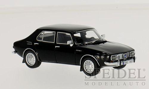 Merveilleux MODELCAR Saab 99 4-portes 1971-noir - 1 43 - lim.ed.700