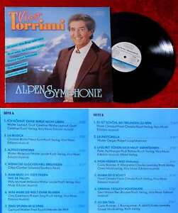 LP Vico Torriani: Alpen Symphonie (Koch 122 315 E) A 1990 - Hamburg, Deutschland - LP Vico Torriani: Alpen Symphonie (Koch 122 315 E) A 1990 - Hamburg, Deutschland