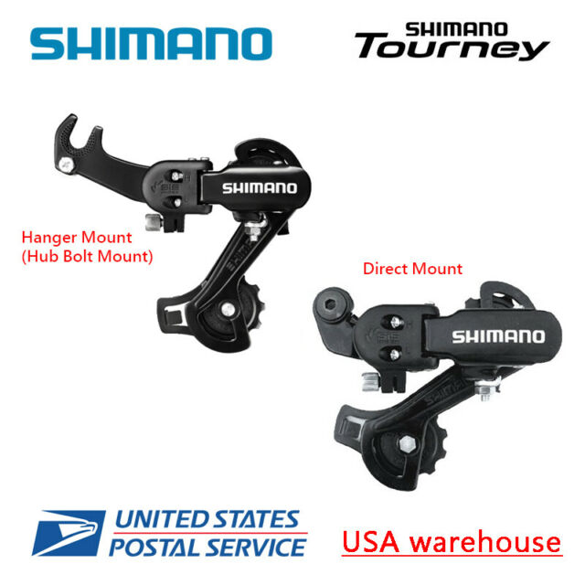 SHIMANO TOURNEY RD-TY500 6//7 SPEED CLAW-HANGER MOUNT MTB ROAD REAR DERAILLEUR