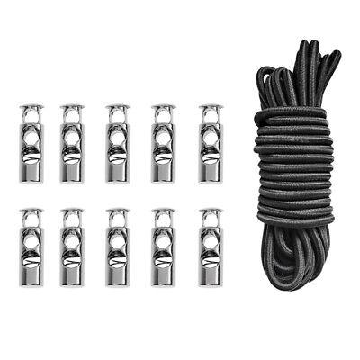 3m Elastic Bungee Rope Shock Cord Tie Down Boat Anti-UV 20 Rope Hooks Ends