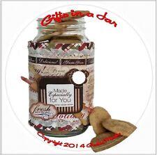 2000 Gift Jar Recipes CD cookbook cake cookie dessert meals baking book Labels