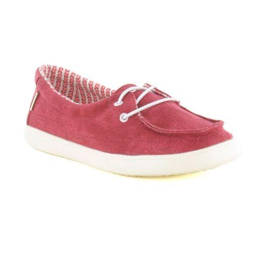 Hey Dude Ladies Shoes Ferrara Red