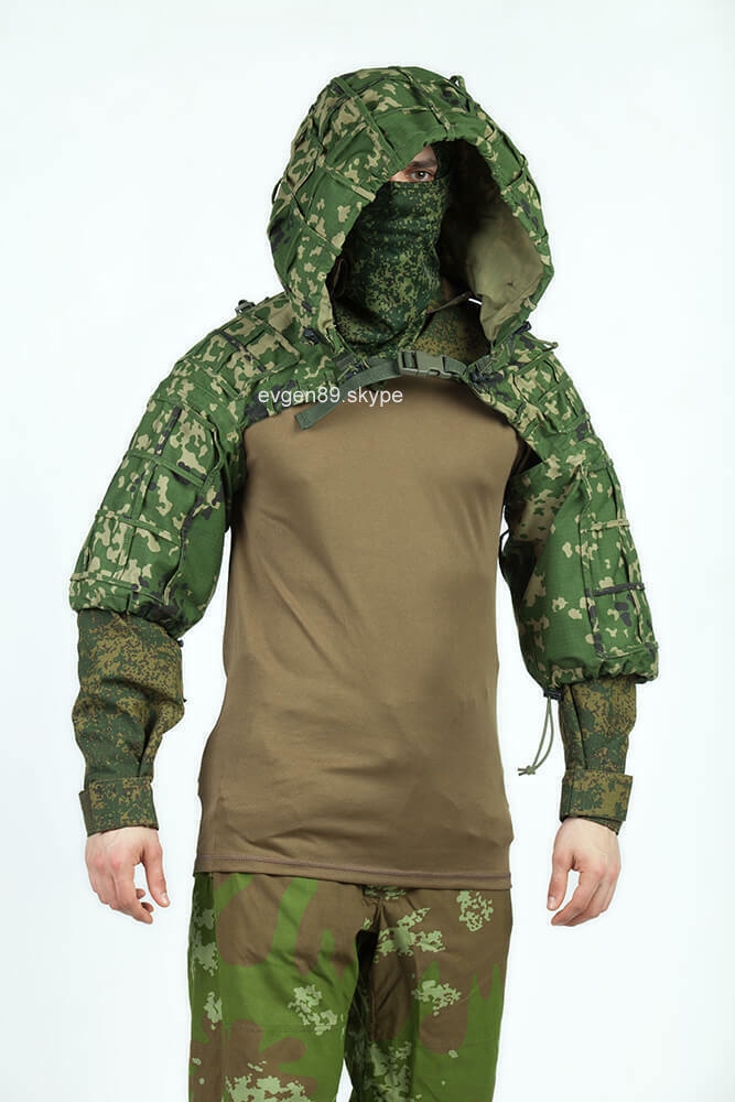 Disguise Sniper Coat    Viper Hood Russian Spetsnaz Ripstop Flectarn-D  best reputation