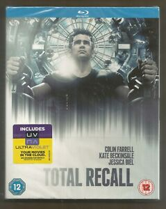 TOTAL-RECALL-sealed-new-UK-BLU-RAY-Colin-Farrell-Kate-Beckinsale