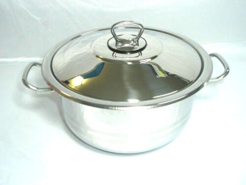 couvercle pot gastronomique Induction tous les cuisinière 6 à 54 L 18//10 Acier Inoxydable Universel