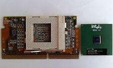 CPU Intel Pentium /// _ 650/256/100 1.65V + Adattatore CPU Socket 370 Slot 1