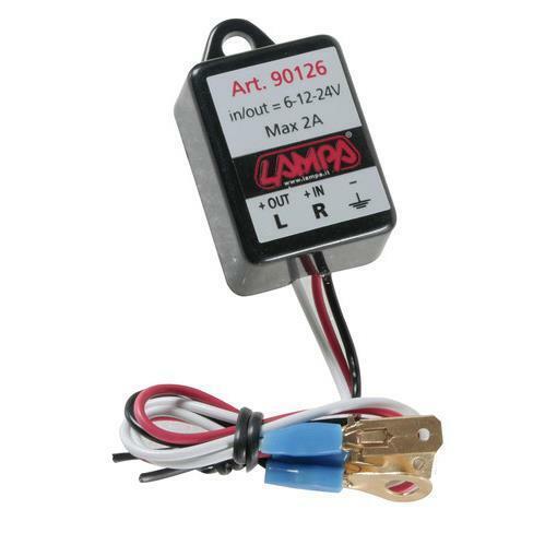Intermittenza elettronica 6/12/24v moto illuminazione lampa 5an
