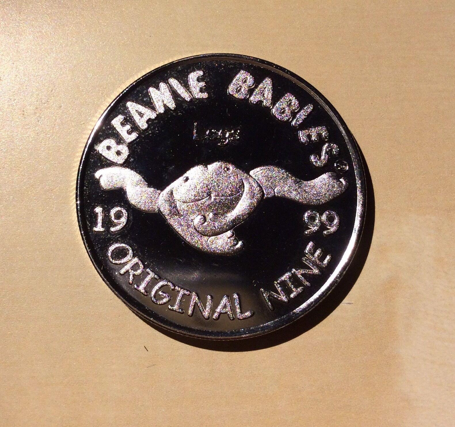 Beanie babys 1999 ursprünglich neun  beine  offizielle club medaillon