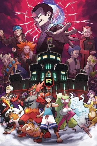 "Pokemon Switch Wii Video Game 36/"" x 24/"" Large Wall Poster Print Fan Art"