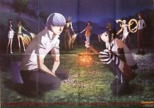 Persona 4 the Golden / Akuma no Riddle Story of Devil poster promo anime big