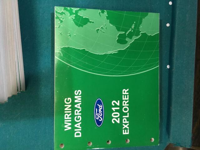 Brand New 2012 Ford Explorer Wiring Diagram Dealer Shop Service Manual