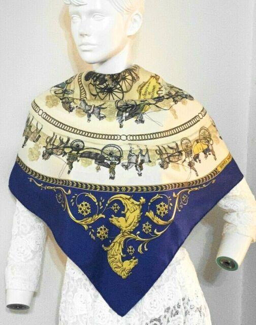Vintage silk scarf HERMES
