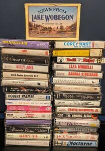Lot of 30+ Random Music Cassette Tapes