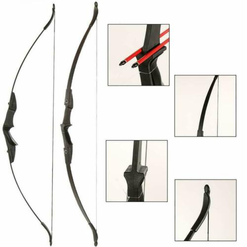 30//40lb Archery Takedown Recurve Bow Set Right//Left Hand Adult Beginner Practice