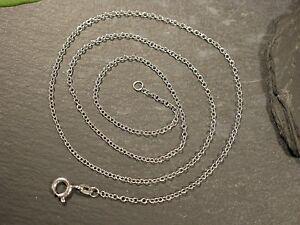Tolle-925-Silber-Kette-Erbsenkette-Signiert-HK-Unisex-Damen-Herren-Zart-Filigran