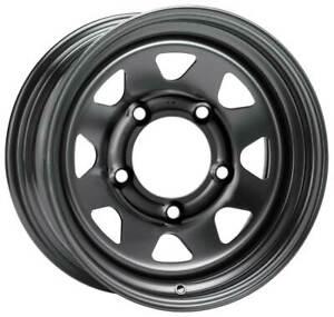 Dotz-Dakar-dark-Felgen-7-0Jx15-ET-12-5x139-7-fur-SUZUKI-Vitara-Samurai-Grand-Vit