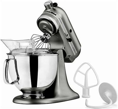 KitchenAid Stand Mixer tilt 5Quart ksm150 Artisan Blue Graphit Meringue 4 Colors