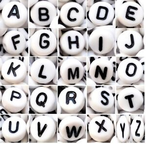 acrylic-alphabet-beads-7-mm-white-flat-round-single-letter-A-Z-amp-mixed