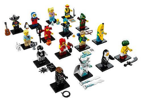 Lego minifigures series 16 unopened sealed random mystery blind bag packet