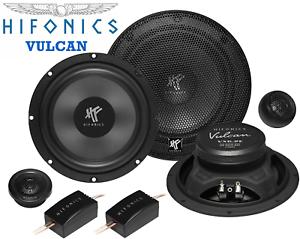 Hifonics vx 6.2e 165mm altavoces 2 vías sistema componentes 200w