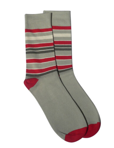 Men/'s Premium Casual Cotton Multi-Color Striped Socks by Rambutan Seamless Fancy