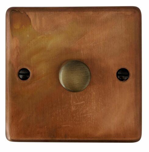 G/&h CTC 511 vPro ternie cuivre 1 Gang 1 Ou 2 Way V-pro DEL variateur d/'intensité