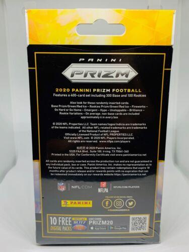 2020 Panini Prizm Football Hanger Box Red Ice Walmart NFL 20 Cards New Sealed