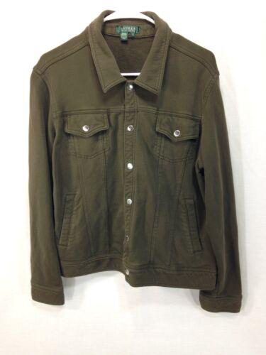 Coat Veste Ralph Coton Lauren Légère Vert XL En Pour Femmes qE5XddcwrW