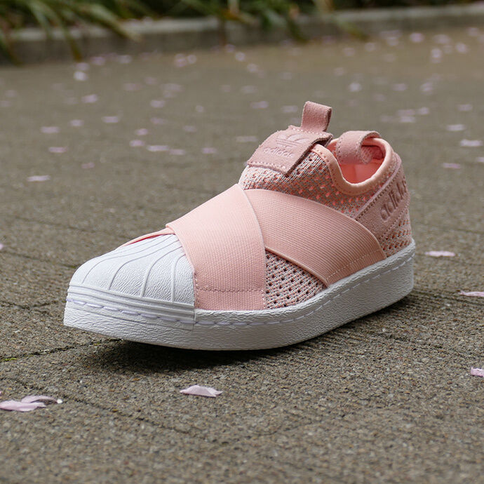 ADIDAS WMNS SUPERSTAR SLIP-ON HAZE CORAL BB2122 US WOMENS SZ 5-9