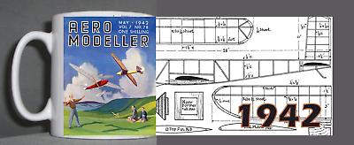 Abile Aeromodeller Tazza Vintage Design 1942-mostra Il Titolo Originale Promuovere La Salute E Curare Le Malattie
