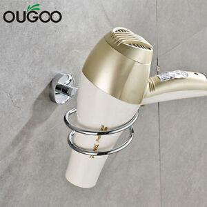 Ougoo stainlesssteel фен держатель настенное крепление для ухода за волосами инструмент для укладки для хранения
