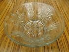 "Vintage Glass Fruit Bowl Approx. 8"" Diameter x approx 3.1/4"