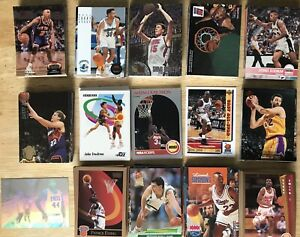 1990-s-Vintage-300-Card-NBA-LOT-3-Skybox-Upper-Deck-Fleer-Ultra-Hoops-RC-amp-Stars