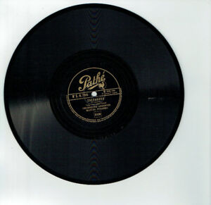 78T-25cm-Orch-ARGENTINE-Manual-PIZARRO-Disk-Phonograph-CACHADORA-PATHE-8756