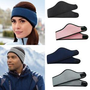 Soft Fleece Headband Winter Warm Hat Ear Muff Warmer Ski Snowboard ... db21ed351fb