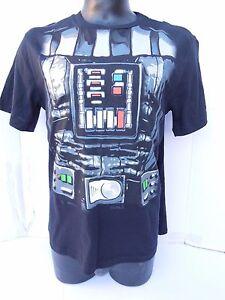 Star-Wars-DARTH-VADER-COSTUME-DESIGN-WITH-CAPE-MENS-BLACK-T-SHIRT-M-L-XL-2X