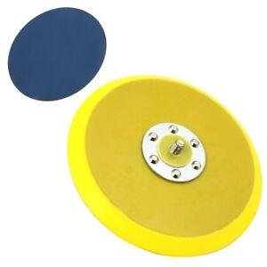 "6"" Vinyl PSA Face DA Sanding Pad Dual Action Air Sander Use Sticky Back Disc NEW"