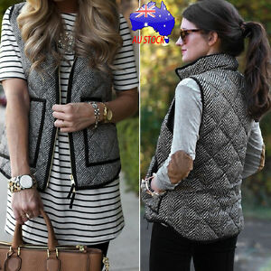 Women-Winter-Thick-Warm-Coat-Hooded-Padded-Vest-Sleeveless-Zipper-Pockets-Jacket