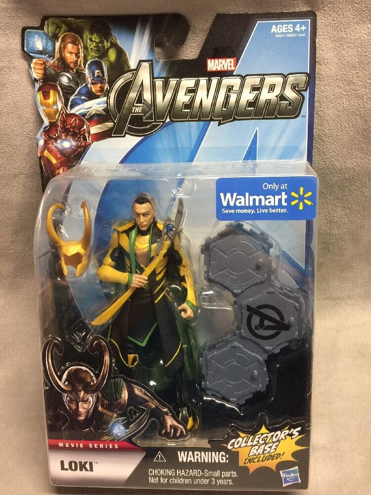 Hasbro Walmart Exclusive Avengers Movie Marvel Legends LOKI 6 inch Figure NEW