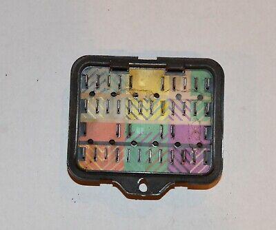 1966 impala fuse box 1966 77 bmw 2002 fuse box  61138760141  ebay  1966 77 bmw 2002 fuse box  61138760141
