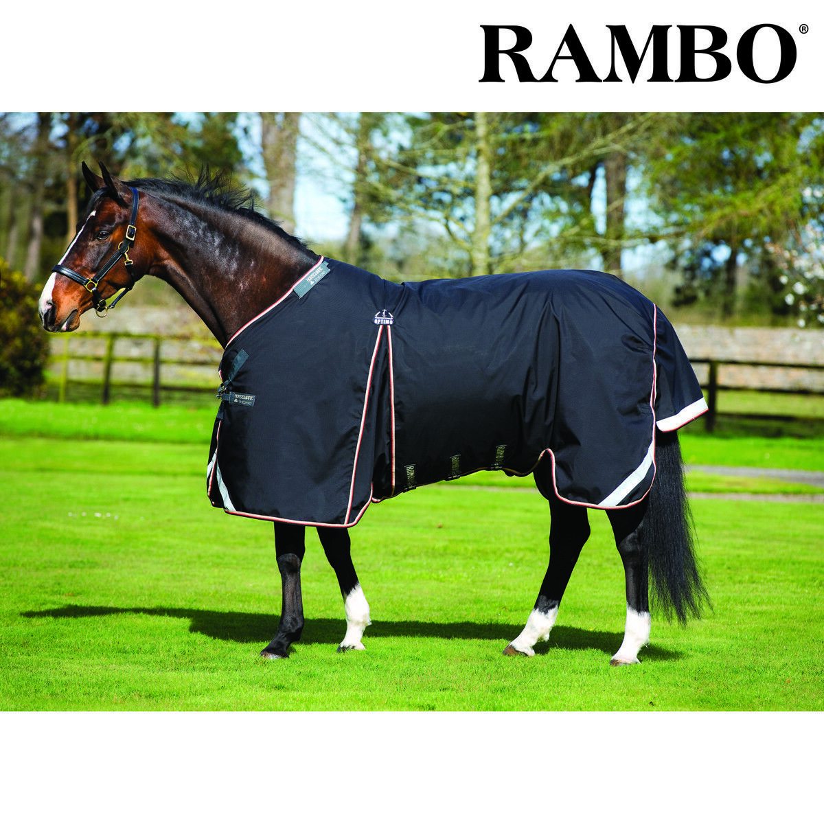 Horseware Rambo Optimo Turnout Rug - Outer Only