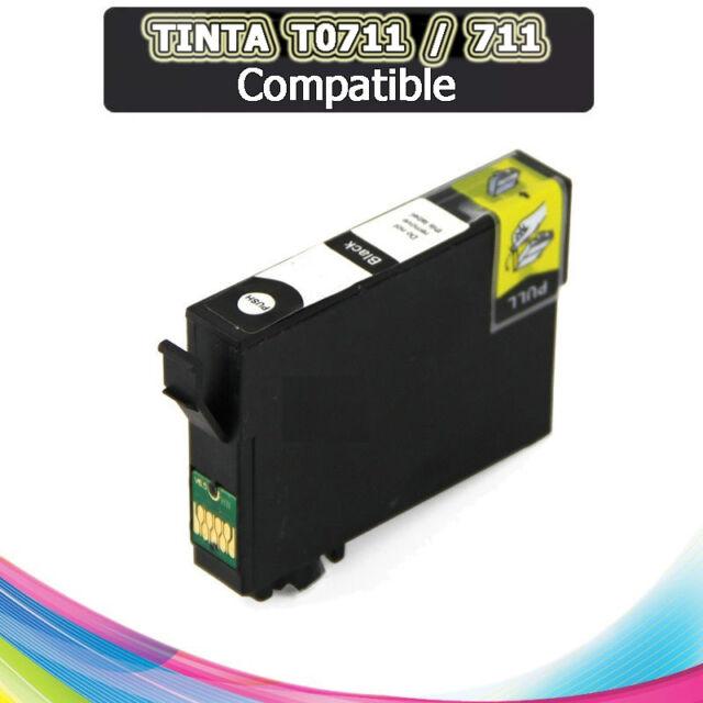 1 Tinta compatible NON OEM para EPSON STYLUS T0711 T-0711 T 0711 T711