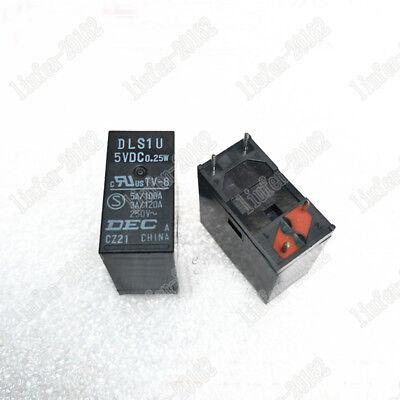 1pcs ORIGINAL DLS1U-5VDC DLS1U 5VDC 0.25W DEC Relay NEW