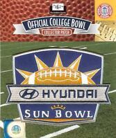 2015 Hyundai Sun Bowl Patch Miami (fl) Vs Washington State Official Jersey Logo