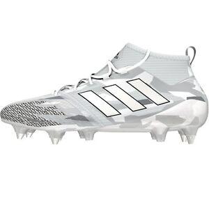 Details zu adidas ACE 17.1 Primeknit SG Fußballschuhe weiß/grau mit Knöchel  Socke [BB0871]