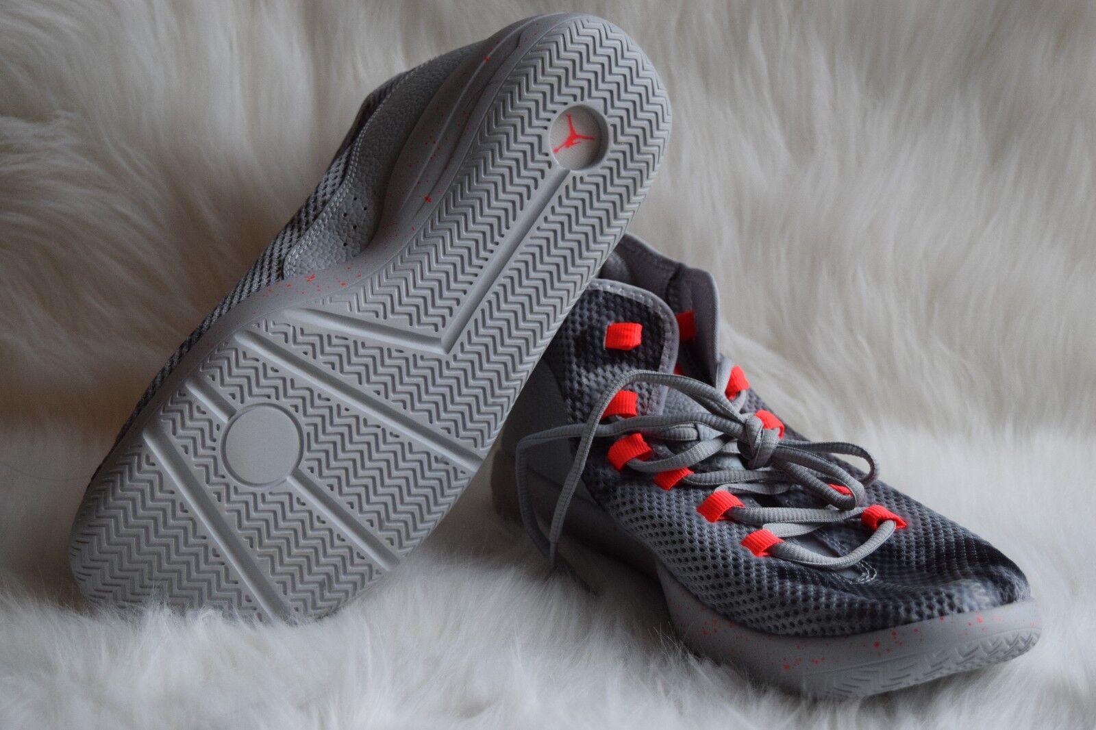 Nike Men's Jordan Reveal Premium Wolf Grey/Infrared 23/Black 834229-015 Sz 11