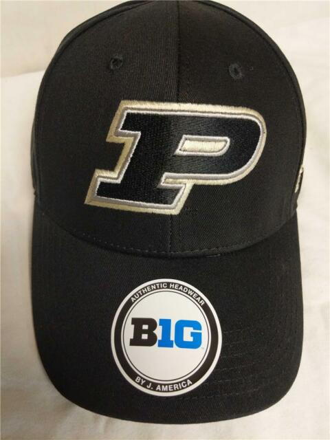 premium selection 8375c 2bc44 ... clearance new purdue boilermakers big 10 mens black adjustable hat 24  12928 29159