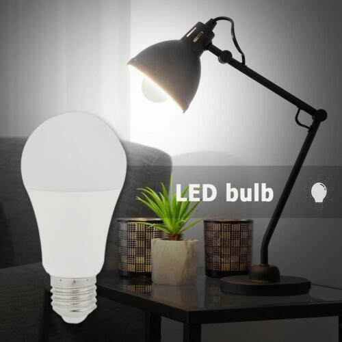Cold White 12W LED Light Sensor Bulb E27 Dusk to Dawn Light Bulbs Lamp Warm