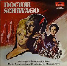 "DOCTOR SCHIWAGO - MAURICE JARRE 10""  LP  (Q628)"