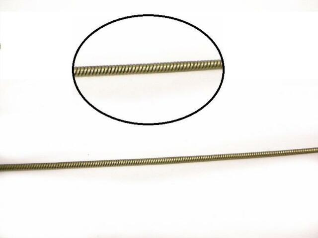 5 feet 1.2mm antique bronze finish lead nickel free snake chain-8104
